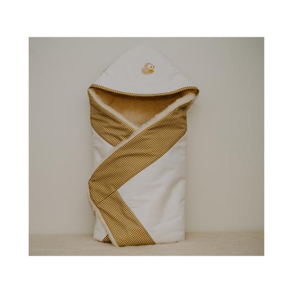 VILNONIS vokelis – antklodė kūdikiui, 75 x 85 cm, Vilaurita (472)