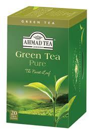 Žalioji arbata AHMAD TEA GREEN TEA PURE, 20*2g