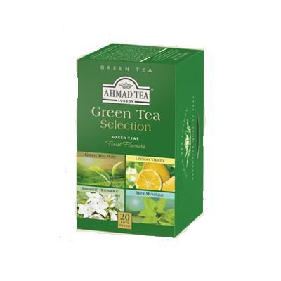 Žaliosios arbatos rinkinys AHMAD TEA GREEN TEA SELECTION, 20*2g