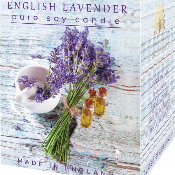 Žvakė dovanoms ENGLISH LAVENDER, English Soap, 1 vnt.