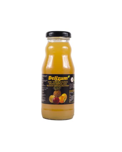 Ekologiškos tropinių vaisių sultys DELIZUM, 200ml