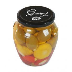 Gurmaniškas daržovių rinkinys įdarytas sūriu DIE KASEMACHER, stikle, 650 g