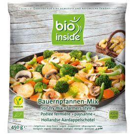Šaldytas daržovių mišinys su bulvėmis BIO INSIDE kepti, ekologiškas, 450g
