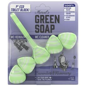 Pakabinamas tualeto valiklis MARCELS GREEN SOAP su rozmarinais ir levandomis, 1 vnt.