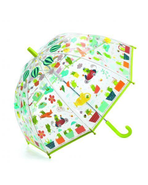 Vaikiškas skėtis DJECO Froglets (DD04808), 1 vnt.