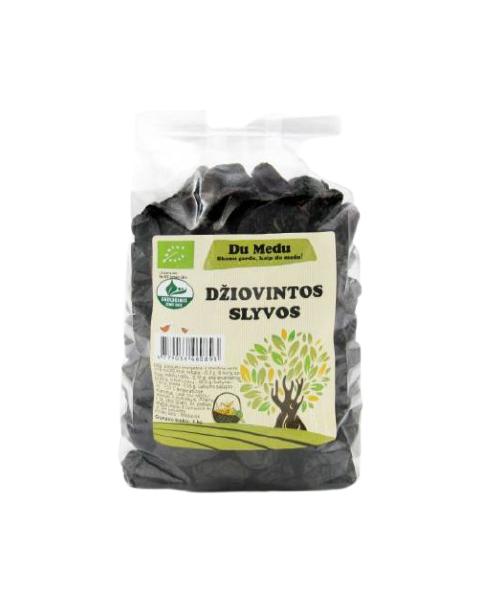 Ekologiškos džiovintos slyvos DU MEDU, 1kg