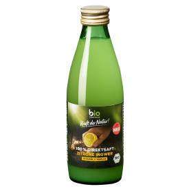 Ekologiškos citrinų ir imbiero sultys BIOZENTRALE, 250ml