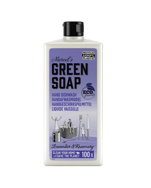 Indų ploviklis MARCELS GREEN SOAP su levandomis ir rozmarinais,  500 ml
