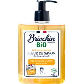 Rankų muilas BRIOCHIN laukinių gėlių medaus ir citrinų kvapo, 400 ml