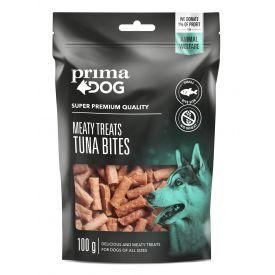 Skanėstas šunims PRIMA DOG tuno kąsneliai, 100 g