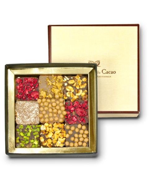 Šokoladų rinkinys COMPTOIR du CACAO, 90 g