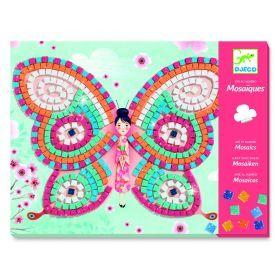 Žaidimas mozaika DJECO Butterflies (DJ08898), 1 vnt.