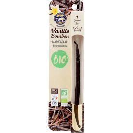 Ekologiška vanilės ankštis Bourbon SAINTE LUCIE, 1 vnt