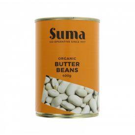 Ekologiškos konservuotos sviestinės pupelės SUMA, 400  g