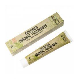 Ekologiška dantų pasta su alaviju ir mėtomis SUZTAIN, 75 ml