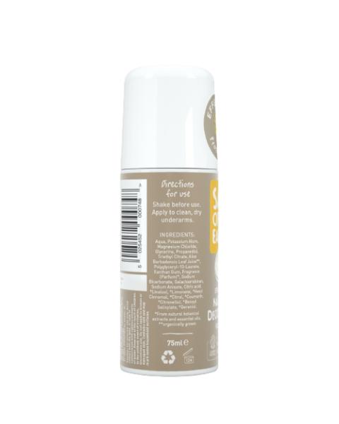 Natūralus rutulinis dezodorantas SALT OF THE EARTH su gintaru ir santalu, 75 ml 3