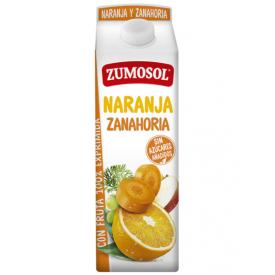 Apelsinų-morkų sulčių gėrimas ZUMOSOL, 1L