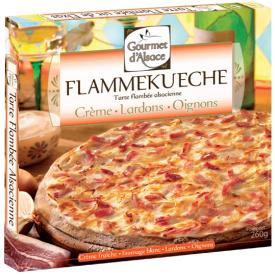Prancūziška pica su kumpiu ir svogūnais ESCAL, 260g
