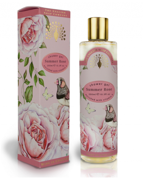 Dušo želė ENGLISH SOAP rožių aromato, 300 ml