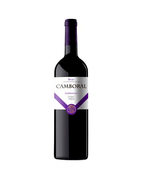 Raudonas sausas vynas Camboral Tempranillo 14%, 750ml