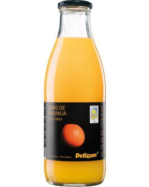 Ekologiškos apelsinų sultys DELIZUM, 750ml