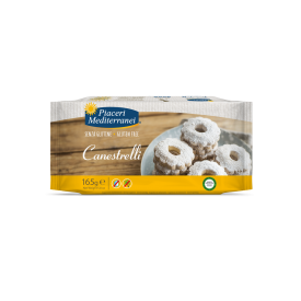 Sausainiai Canestrelli PIACERI MEDITERRANEI, be gliuteno, 125 g