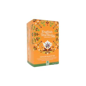 Ekologiška juodoji arbata ENGLISH TEA SHOP Ceylon Black Tea, 20 maišelių