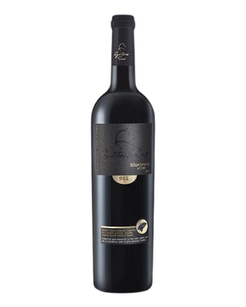 Mėlynių vynas GINTARO SINO 911, sausas, 13.5%, 750 ml
