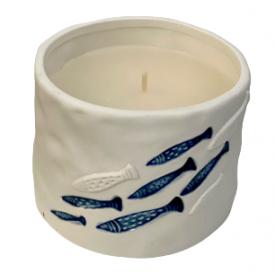 CANDELE FIRENZE porceliano žvakė maža, 65h, 1 vnt