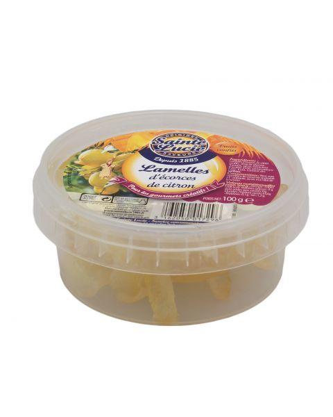 Cukruotos citrinų žievelės SAINTE LUCIE, 100 g