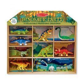 Dinozaurų figūrėlės MELISSA & DOUG, 9 vnt.