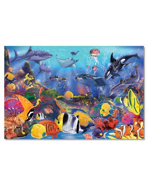 "Dėlionė (48 detalės) MELISSA & DOUG ""Underwater"", 1 vnt."