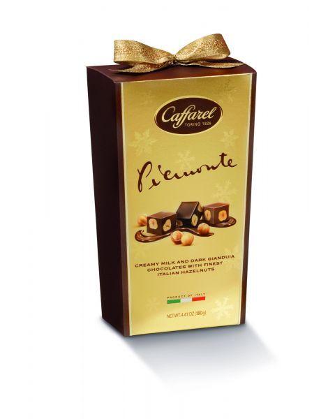 """Šokoladinių saldainių rinkinys CAFFAREL """"Golden Piemonte"""", 180 g"""