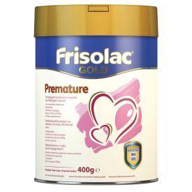 Specialios medicininės paskirties mišinys Frisolac gold premature neišnešiotiems ir mažo gimimo svorio kūdikiams nuo gimimo, kol svoris pasieks 3500 g FRIESLAND CAMPINA, 400 g
