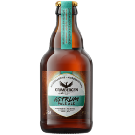 Šviesusis alus GRIMBERGEN Astrum Pale Ale 6%, 330ml