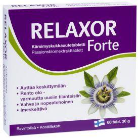 Maisto papildas miegui RELAXOR Forte tab N60