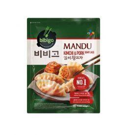 MANDU koldūnai su kimchi ir kiauliena BIBIGO, šaldyti, 525g