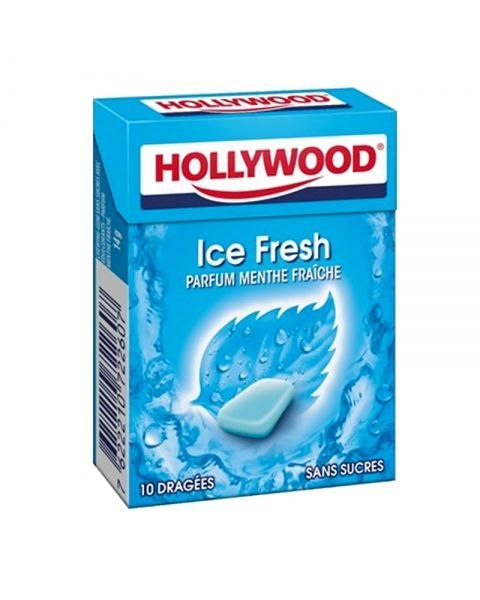 Kramtomoji guma HOLLYWOOD Ice fresh, 14 g 2