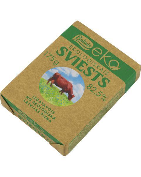 Ekologiškas sviestas BALTAIS 82,5% rieb., 175g