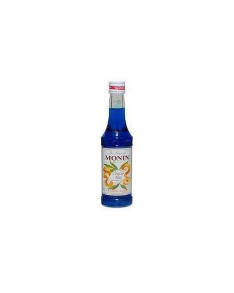 Citrusinių vaisių skonio sirupas MONIN Curasao blue, 250 ml