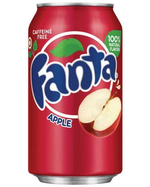 Obuolių skonio FANTA, 355ml