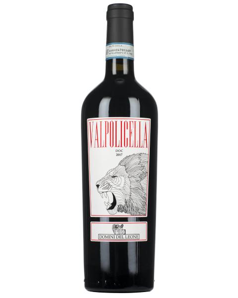 Ekologiškas raudonas vynas DOMINI DEL LEONE Valpolicella DOC 2017 12,5%, 750 ml