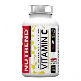 Vitaminas C su erškėtuogiais NUTREND, 100 tablečių