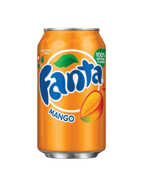 Mangų skonio FANTA, 355ml