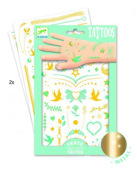Tatuiruotės vaikams DJECO Lily's Jewels (DJ09593) 2
