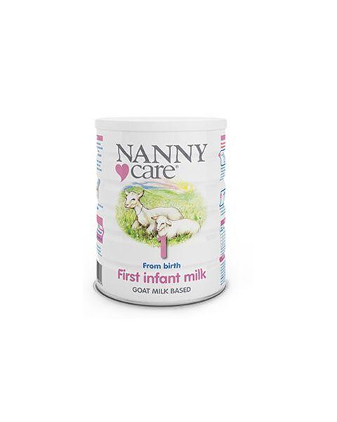 Pradinio maitinimo ožkos pieno mišinys NANNY kūdikiams nuo 1 iki 6 mėn., 900 g