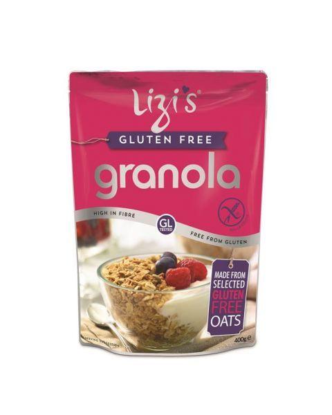 Sausi pusryčiai be glitimo LIZI'S Granola, 400g