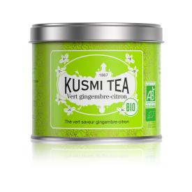 Žalioji arbata GINGER-LEMON KUSMI TEA, 125g