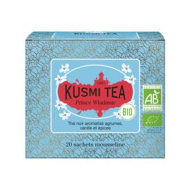 Ekologiška Juodoji arbata PRINCE WLADIMIR KUSMI TEA, 20*2g