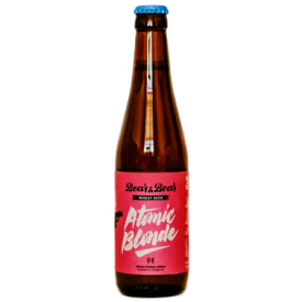 "Alus ""Atomic Blonde"" BEAR&BOAR Wheat Beer, 330ml"